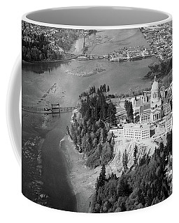 Aerial View Northward Over Olympia Coffee Mug