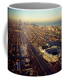 Aerial View Of A City, Old Comiskey Coffee Mug