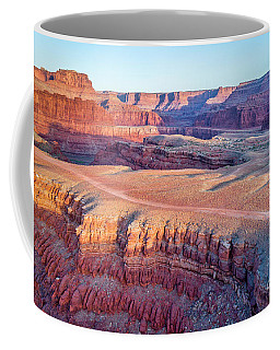 aerial view of Colorado RIver canyon Coffee Mug