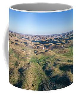 aerial view of Nebraska Sand Hills  Coffee Mug