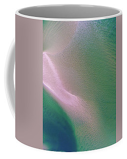 Coffee Mug featuring the photograph Aerial View Of Noosa River by Keiran Lusk