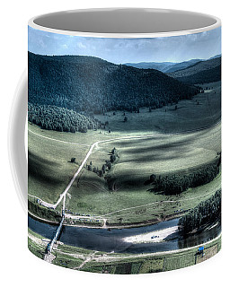 Aerial View Of Rolling Russian Hills Coffee Mug
