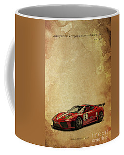 Aerodynamics Are For People Who Cant Build Engines. Enzo Ferrari Quote Coffee Mug