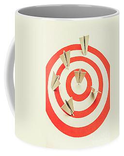 Aeroplane Target Pin Board Coffee Mug