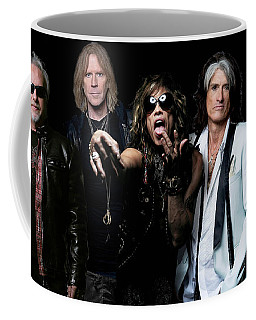 Coffee Mug featuring the photograph Aerosmith by Sean