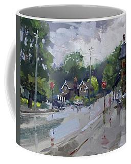 Afetr Rain At Glen Williams On Coffee Mug