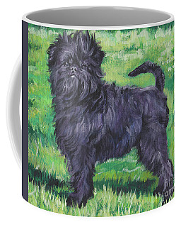 Coffee Mug featuring the painting Affenpinscher by Lee Ann Shepard