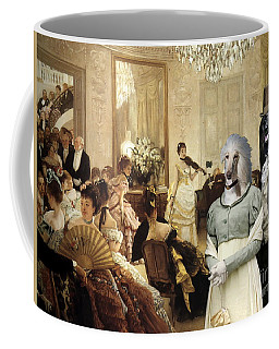 Afghan Hound-the Concert  Canvas Fine Art Print Coffee Mug