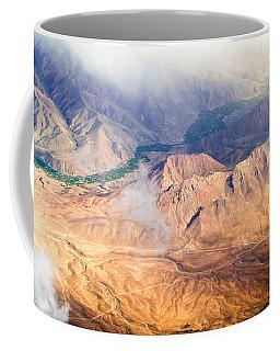 Afghan Valley At Sunrise Coffee Mug