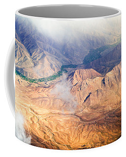 Afghan Valley At Sunrise Coffee Mug
