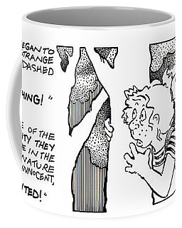 Afraid Of Something Fpi Cartoon Coffee Mug
