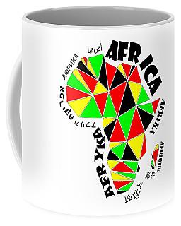 Africa Continent Coffee Mug