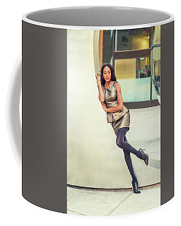 African American Business Woman Fashion In New York Coffee Mug