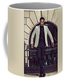 African American Businessman Working In New York Coffee Mug
