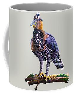 African Crowned Eagle  Coffee Mug by Anthony Mwangi