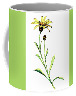 Coffee Mug featuring the painting African Daisy by Heidi Kriel