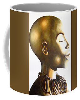 African Elegance Sepia - Original Artwork Coffee Mug