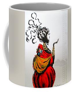 African Lady And Baby Coffee Mug