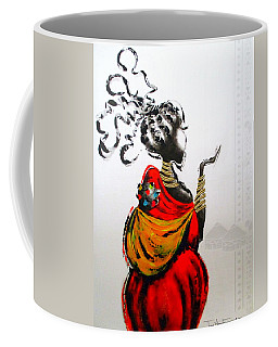 African Lady And Baby Coffee Mug
