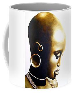 African Lady - Original Artwork Coffee Mug