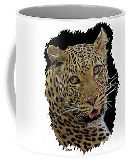 African Leopard Portrait Coffee Mug