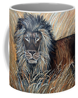 African Lion 2 Coffee Mug
