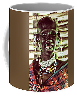 African Maasai Teacher Coffee Mug