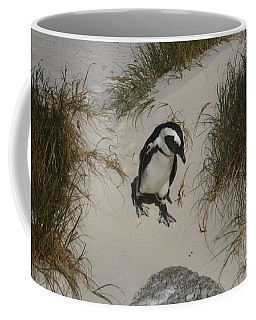 African Penguin On A Mission Coffee Mug