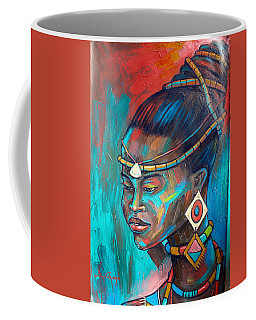 African Princess Coffee Mug