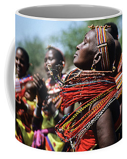 African Rhythm Coffee Mug