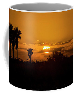 African Style Sunset Coffee Mug