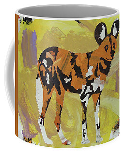 African Wild Dog Coffee Mug