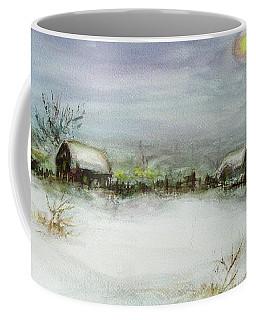 After A Heavy Fall Of Snow Coffee Mug