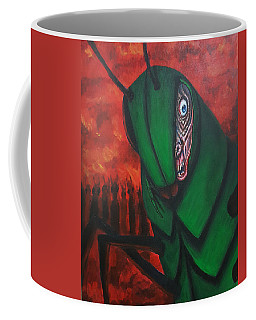 After Bob Died He Realized He Had Made Poor Life Choices. Coffee Mug by Chris Benice