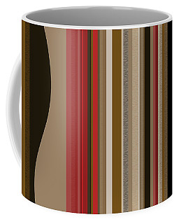 Coffee Mug featuring the digital art After Midnight Three by Val Arie