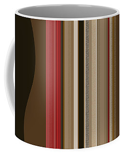 Coffee Mug featuring the digital art After Midnight by Val Arie