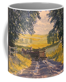 After Rain On The Wolds Way Coffee Mug