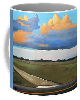 Coffee Mug featuring the painting After Shower by Gary Coleman