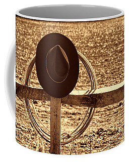 After The Drive Coffee Mug by American West Legend By Olivier Le Queinec