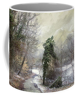 Coffee Mug featuring the photograph After The First Snowfall by John Rivera