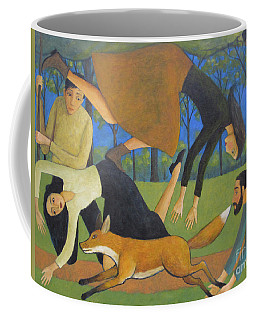 After The Fox Coffee Mug by Glenn Quist