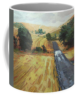 After The Harvest Rain Coffee Mug