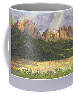 After The Monsoon Organ Mountains Coffee Mug by Jack Pumphrey