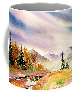 Coffee Mug featuring the painting After The Rain by Teresa Ascone