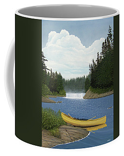After The Rapids Coffee Mug by Kenneth M  Kirsch