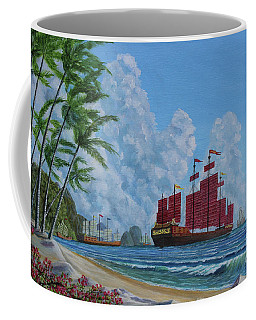 Coffee Mug featuring the painting After The Storm by Anthony Lyon