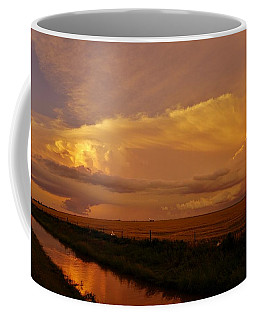 Coffee Mug featuring the photograph After The Storm by Ed Sweeney