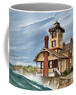 Coffee Mug featuring the painting After The Storm by Nancy Patterson