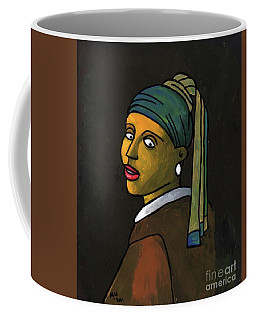 After Vermeer Coffee Mug