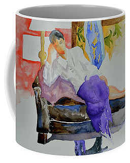 Coffee Mug featuring the painting After Work by Beverley Harper Tinsley